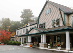 the Inn at Village Square front door
