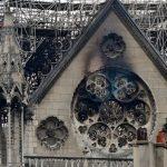 Notre Dame following the fire April 14, 2019